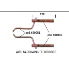 Pereche brate cu electrozi pentru punctare